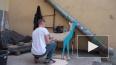 На Караванной улице появился арт-объект Леши Бурстона ...