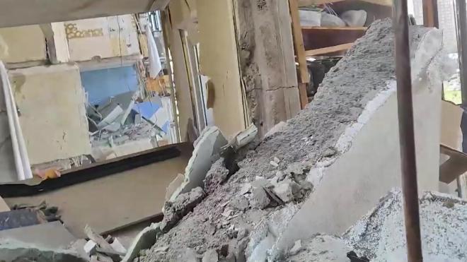 В Киеве более 120 человек остались без жилья из-за обрушения дома