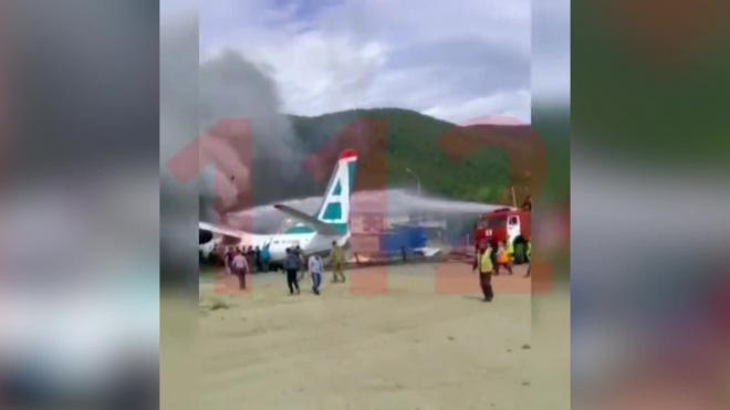 При крушении пассажирского Ан-24 в Бурятии погибли 2 человека
