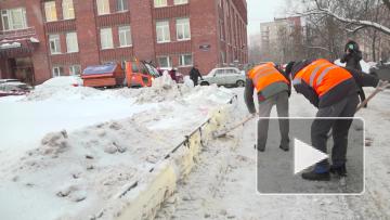 Смольный: Петербург побеждает в битве против снегопада