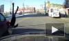 Жуткие кадры из Омска: Школьницу подбросило в воздух из-за наезда авто