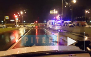 В массовом ДТП на Суздальском пострадали четыре человека