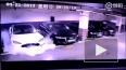 Опубликовано видео момента взрыва автомобиля Tesla ...