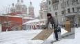 Новый снегопад в Москве опять вызвал транспортный ...
