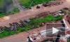 Видео: УАЗ ушел от обстрела на Донбассе задним ходом