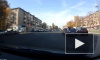 Авария с приземлившимся на капот байкером в Воронеже попала на видео