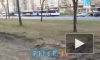 Видео: на Ленинском проспекте вышла из строя линия электропередачи