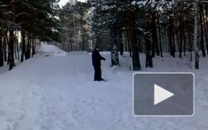 На скользкой дорожке сноускейта