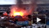 Пожар в поселке Новоселье