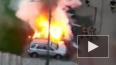 В городе Московский взорвался автомобиль
