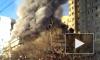 Появилось шокирующее видео страшного пожара на юге Бишкека