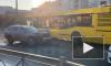 Тройное ДТП на Галстяна спровоцировало пробку