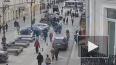 Опубликовано видео момента ДТП с наездом на пешехода ...
