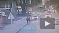Уснувший водитель такси съехал с дороги в здание на Лиго...