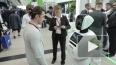 Инновационный стенд Сбербанка на ПМЭФ 2017