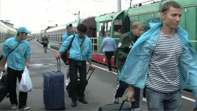 Труженики Курорта. Питерский стройотряд отметился на олимпийской стройке.