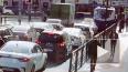 На Суворовском проспекте троллейбус задом сбил пенсионер...