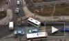 Возле Кудрово произошла авария с участием автобуса