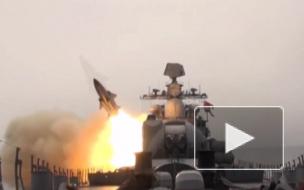 """Минобороны опубликовало видео пусков крылатых ракет """"Москит"""" в Японском море"""