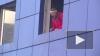 """В Петербурге сносят сгоревший гипер-маркет """"К-раута"""""""