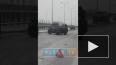Видео: на КАД легковушка столкнулась с фурой