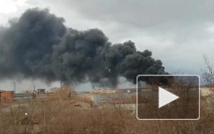 Появилось видео пожара на крупнейшем в России оборонном заводе Красмаш
