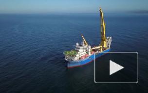 """Потенциальный трубоукладчик """"Газпрома"""" вышел из Индийского океана в Атлантику"""