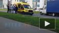 """Видео: на Муринской дороге водитель """"Газели"""" сбил ..."""