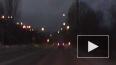 Житель Златоуста снял на видео падающий неопознанный ...