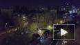 В сети появилось видео последствий столкновения поезда ...