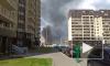 На стройплощадке на проспекте Ветеранов горел пенопласт