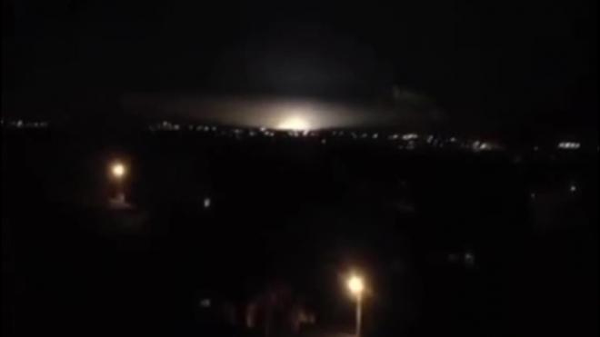 Видео взрыва на подстанции в Курске 1 декабря подтвердило факт аварии, в городе пропадало электричество