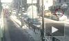 Покушение на убийство петербурженки на Площади Восстания попало на видео