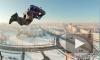 Три парашютиста прыгнули с крыши высотки в Петербурге