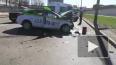 Появилось видео тройного ДТП с участием такси на проспек...