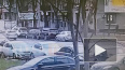 Видео: на улице Ленсовета произошло ДТП из-за невнимател...