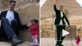 Видео из Египта: У пирамид встретились самый высокий ...