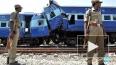 В железнодорожной катастрофе в Индии погибли 25 человек