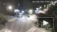 Легковушка протаранила грузовик: Момент жуткой аварии ...