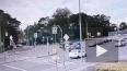 Момент ДТП с Yamaha на Приморском шоссе попал на видео