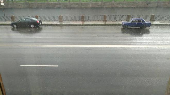 В Петербурге 22 сентября пройдут умеренные дожди
