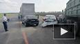 В Тамбовской области грузовик протаранил колонну машин