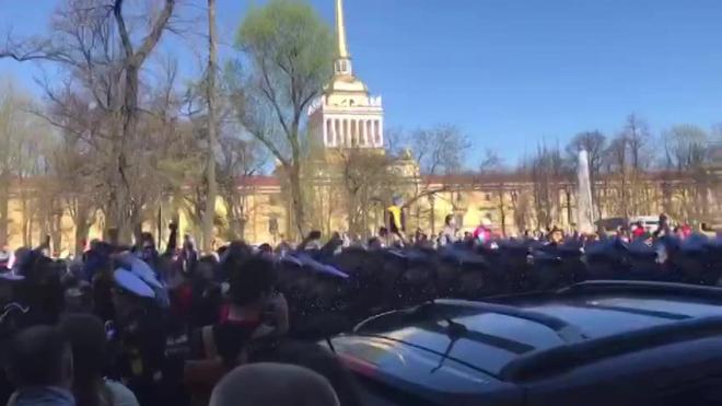 В Северной столице начался парад Победы
