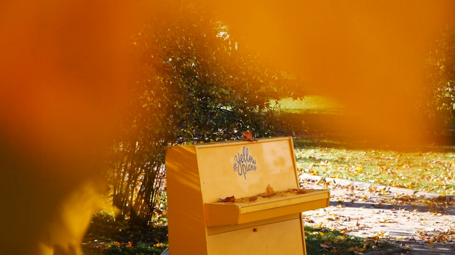 Городские открытия: Yellow Piano