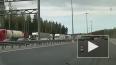 Пробка в 5 километров собралась у вантового моста на КАД