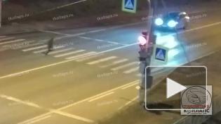 Suzuki снес пешехода на Красносельском шоссе