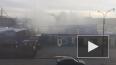 На улице Ольги Берггольц полтора часа пожарные тушили ...
