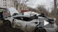 Видео жесткого ДТП: иномарка протаранила дерево в ...