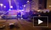 Видео: на Просвещения произошла жуткая авария с перевертышем