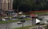 На Выборгском шоссе машина наехала на пешехода на зебре